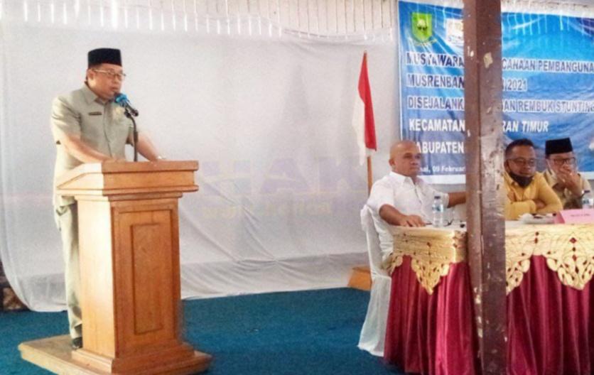 Foto Bunguran timur, Daeng Amhar, Ketua DPRD Natuna, musrembang, musrembang bunguran timur, Musrembang kota batam, natuna