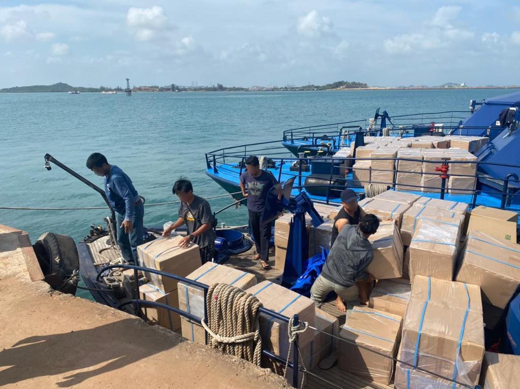 Foto Headline, Km budi selundupkan barang, patroli bea cukai, penyelundupan barang ilegal, selundupkan barang