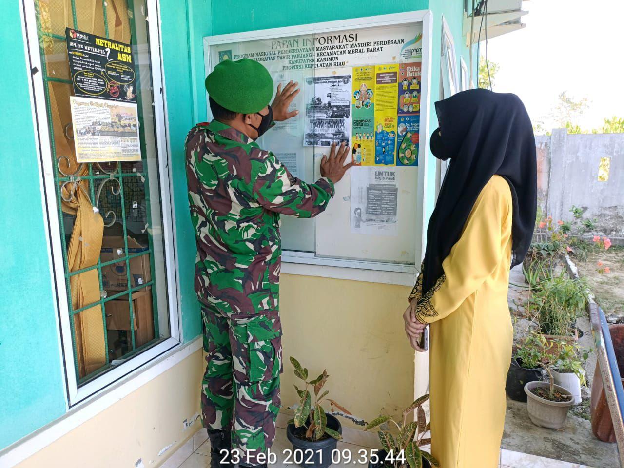 Foto Kodim 0317, Kodim TBK, Penerimaan Prajurit TNI AL, penerimaan tamtama