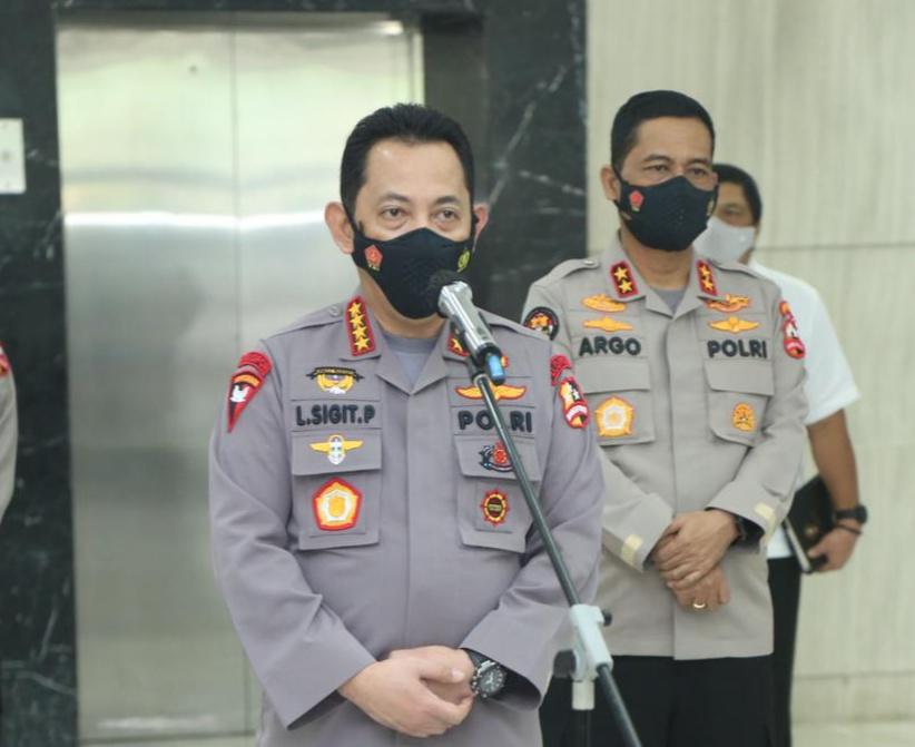 Foto Headline, kapolri, Komjen listyo sigit prabowo, Listyo sigit prabowo, mafia tanah, Mafia tanah di Bintan