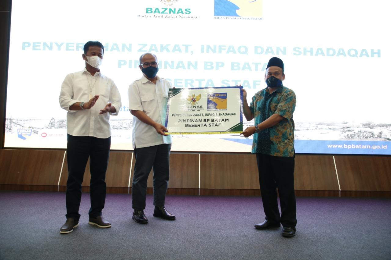 Foto Baznas Kota Batam, Headline, zakat pegawai bp batam