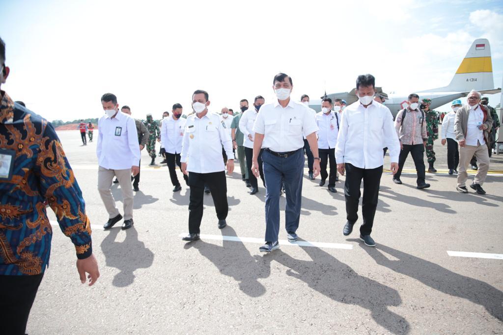 Foto ansar-marlin, Empat menteri ke batam, gubernur kepri ansar ahmad, menteri LBP