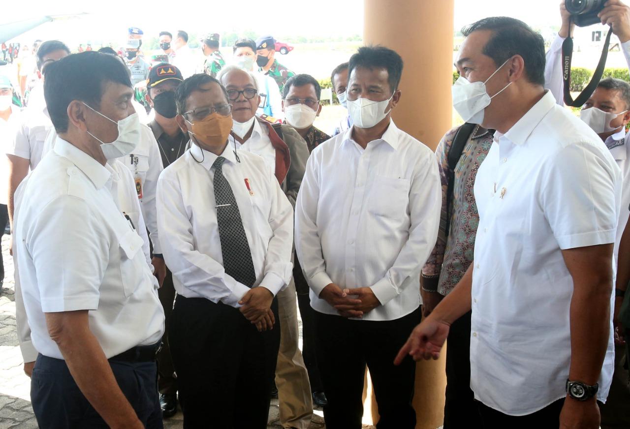 Foto ble batam, Ble resmi diluncurkan, Empat menteri ke batam, HM Rudi, Kunjungan empat menteri, Wali Kota Batam