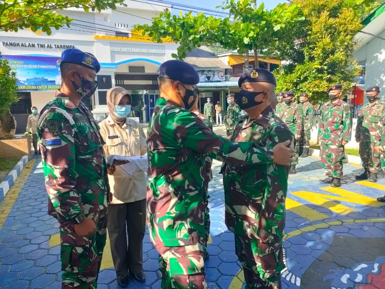 Foto Lanal Tarempa, Personel lanal tarempa, prajurit lanal tarempa, Prajurit TNI AL