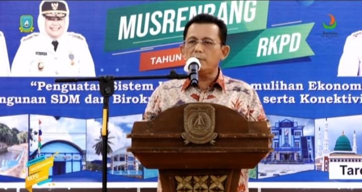 Foto Gubernur buka Musrenbang Anambas, Kab Anambas, Mesrenbang Kabupaten Anambas, RKPD Tahun 2022 KKA
