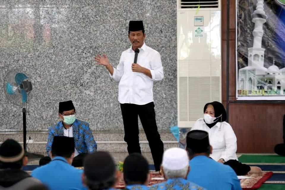 Foto Guru tpq batam, HM Rudi, silaturahmi guru tpq, Wali Kota Batam
