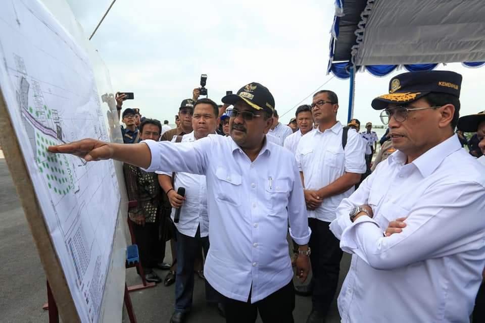 Foto karimun, Pelabuhan Malarko Karimun, Pembangunan Pelabuhan Malarko, Pemkab Karimun