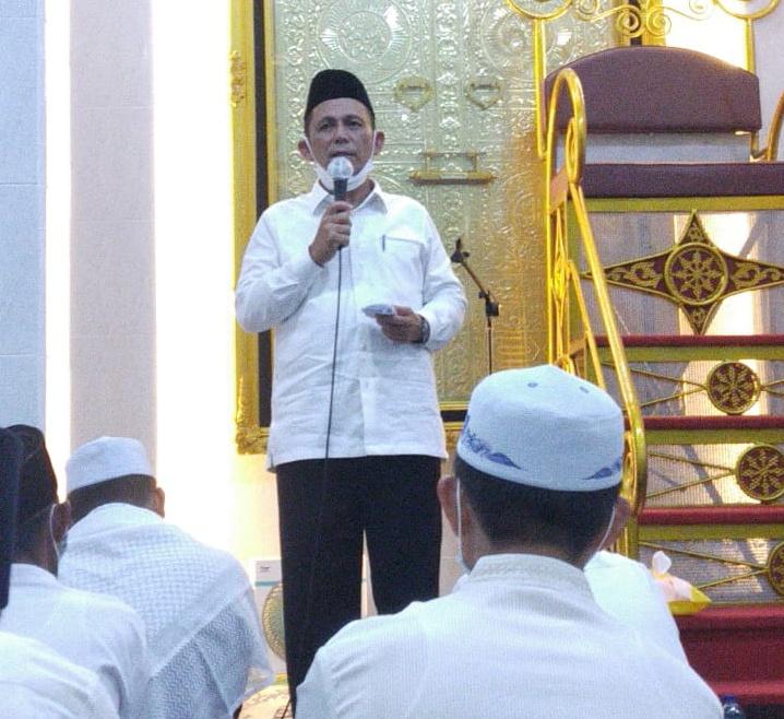Foto ansar ahmad safari ramadan, Dabo Singkep, gubernur ansar ahmad, Gubernur Safari ramadan