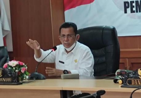 Foto Ansar Ahmad, Asn, asn di kepri, gubernur ansar ahmad, gubernur kepri ansar ahmad, kepri, Kepulauan Riau, Pencegahan Covid-19