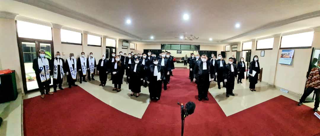 Foto Advokat asal DPC Peradi SAI Batam, advokat dilantik, Batam, DPC Peradi SAI, Headline, provinsi riau, Riau