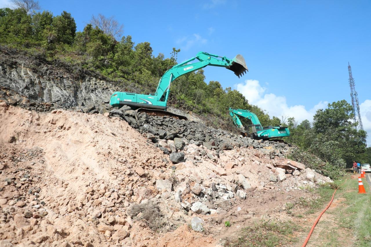 Foto BP Batam, BP Batam Lakukan Pembangunan, jalan Depan Southlink, Pembangunan jalan, Peningkatan Infrastruktur Jalan, Southlink