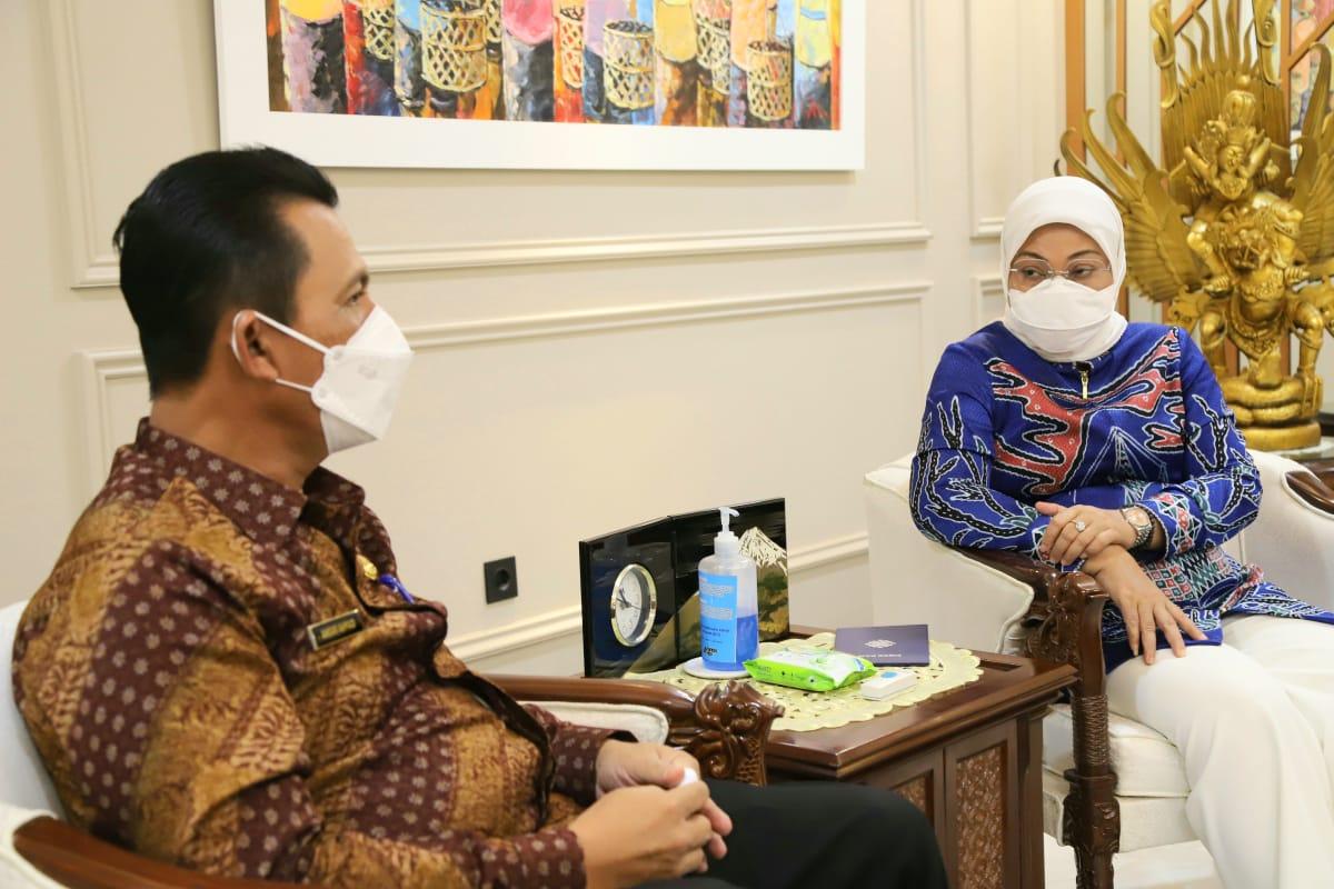Foto bangun blk, Batam, BLK di Kepri, gubernur ansar ahmad, Gubernur Kepri, karimun, menaker bantu kepri