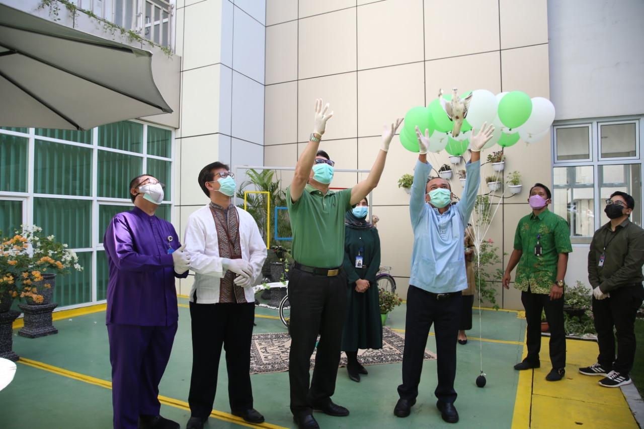 Foto area hijau, Batam, green hospital, RSBP Batam, rsbp batam nenuju green hospital, taman penyembuhan pasien