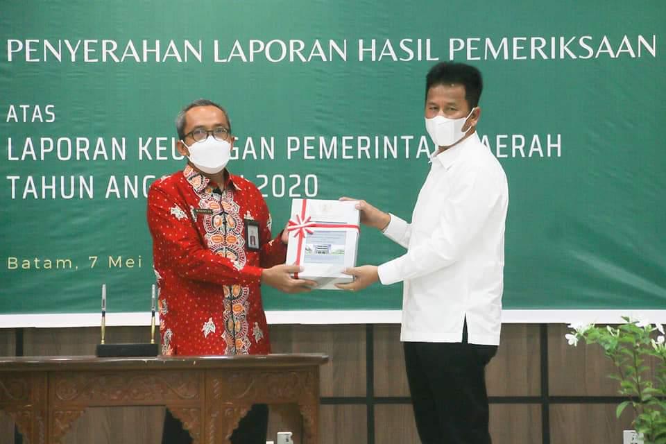 Foto Batam, BP Batam Raih WTP, Kota Batam, Opini WTP, Pemko batam pertahankan wtp, predikat wtp, WTP