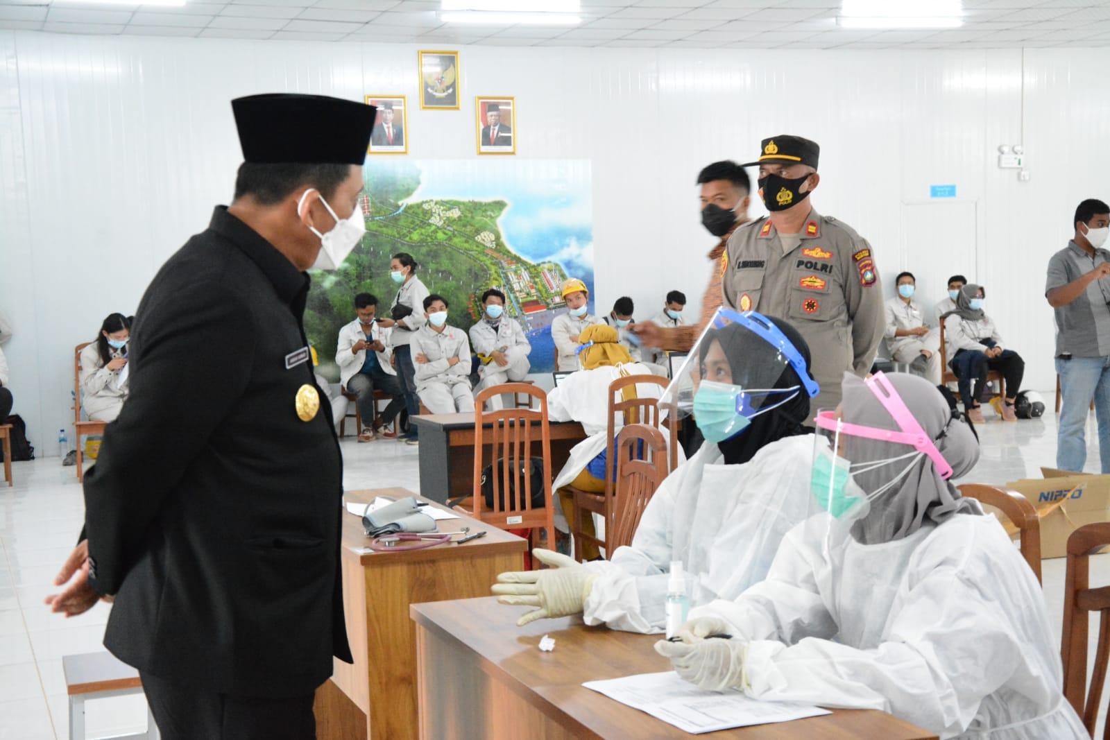 Foto Bintan, gubernur ansar ahmad, gubernur kepri ansar ahmad, vaksinasi