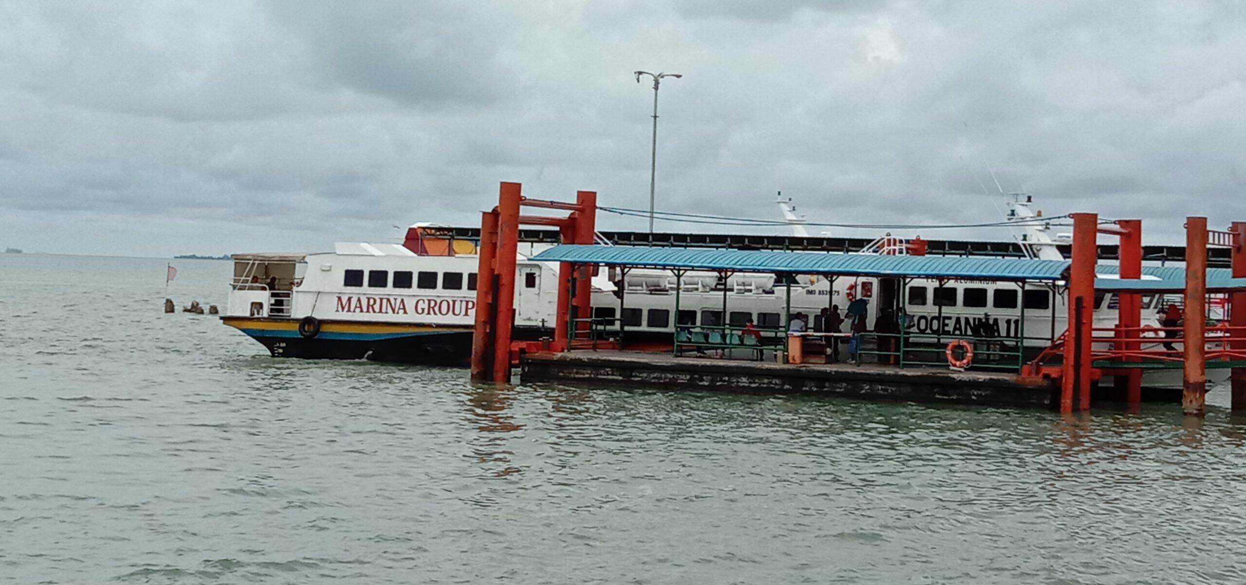 Foto Batam, larangan mudik, larangan mudik di kepri, Mudik Lebaran, pelabuhan punggur, Penumpang kapal feri, Surat edaran larangan mudik