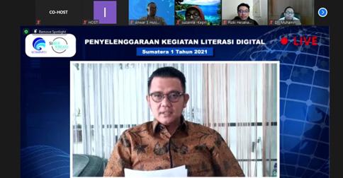 Foto Bintan, Kab Bintan, Kepulauan Riau, literasi digital, Webinar Literasi Digital