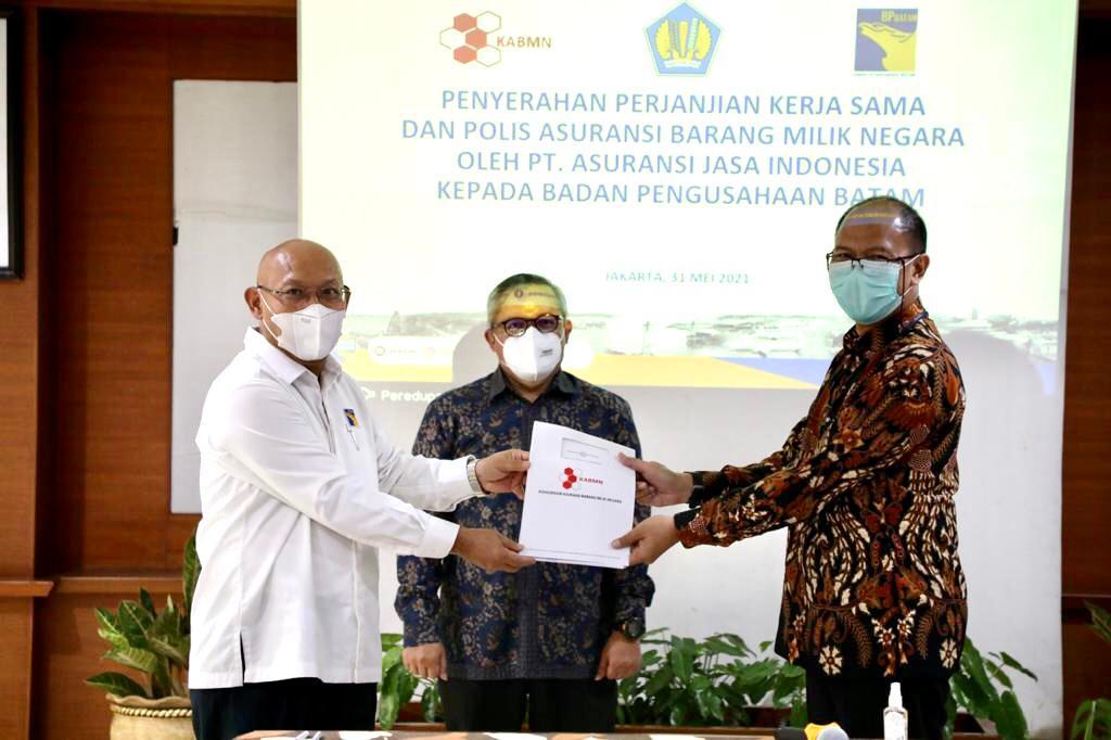 Foto Asuransi BMN, Batam, BMN, BP Batam Jalin Kerjasama, kabar batam, PT Asuransi Jasa Indonesia, pulau batam