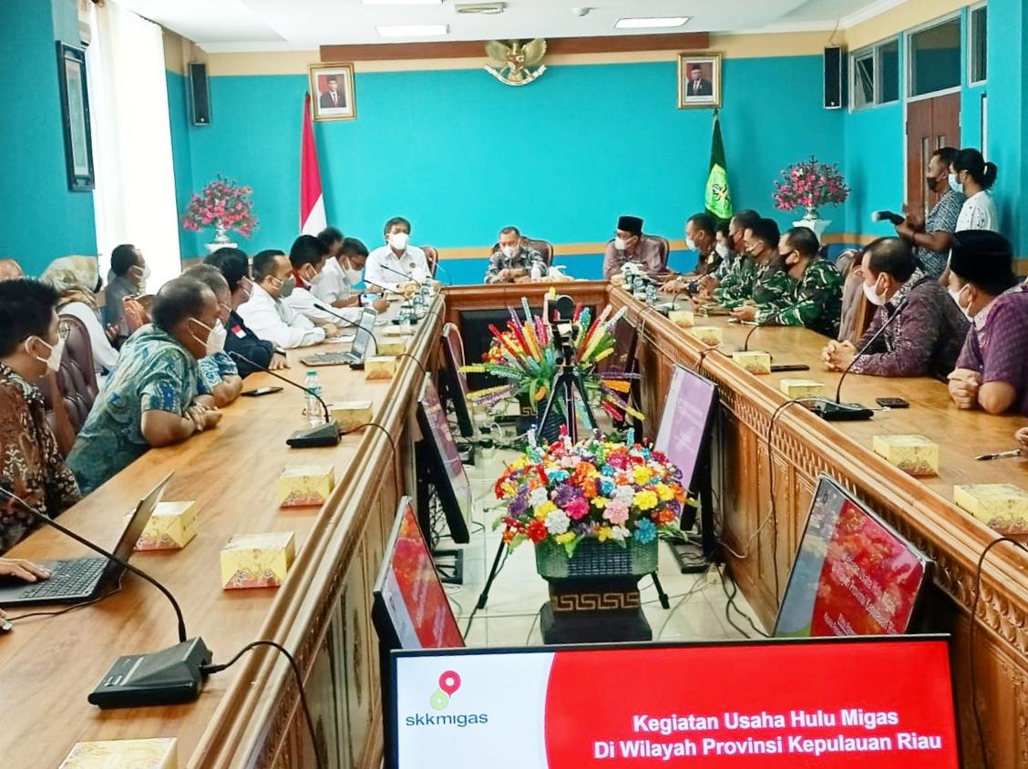 Foto blok natuna, DPRD natuna, jarmin sidik, Pengeboran minyak natuna, putra daerah natuna, SKK Migas, wakil ketua dprd natuna