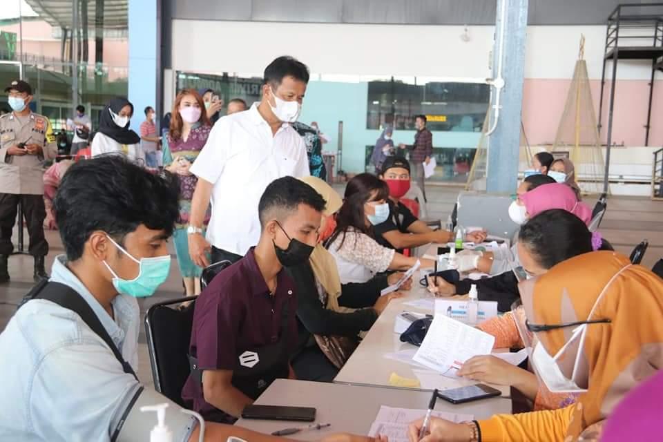 Foto Batam, HM Rudi, Kepulauan Riau, Kota Batam, vaksinasi, vaksinasi di batam, vaksinasi massal, Wapi kota batam