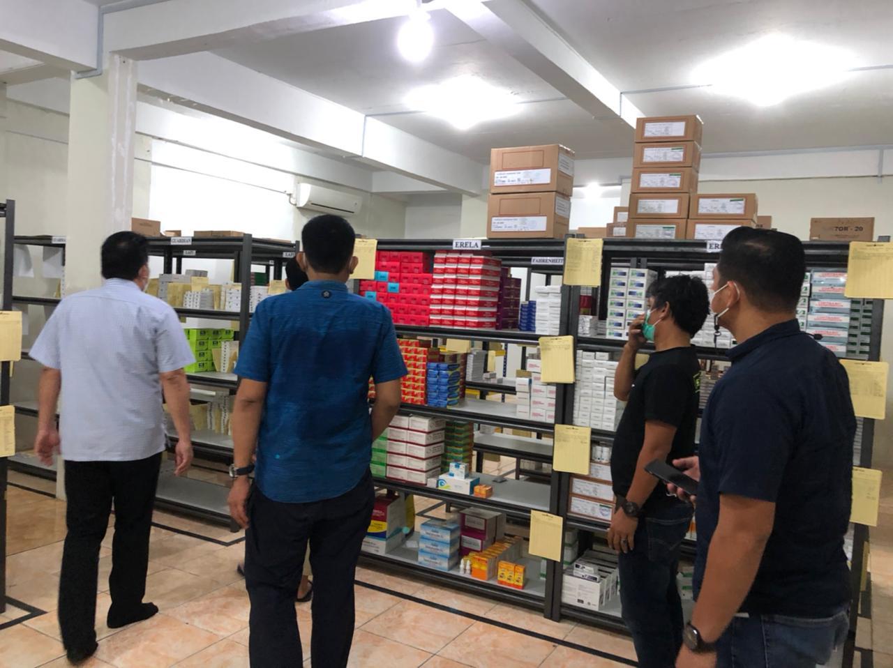 Foto pedagang besar farmasi, permintaan melonjak, satgas pangan, Satgas Pangan Polda Kepri, stok obat dan vitamin, Stok obat-obatan