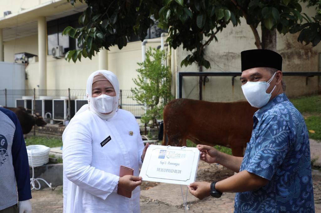 Foto BP Batam, BP Batam berkurban, bp batam salurkan hewan kurban, Hewan kurban, Idul Adha, idul adha 1442H